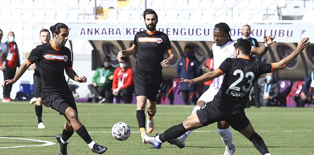 TFF 1. Lig: Ankara Keçiörengücü: 1 - Adanaspor: 0
