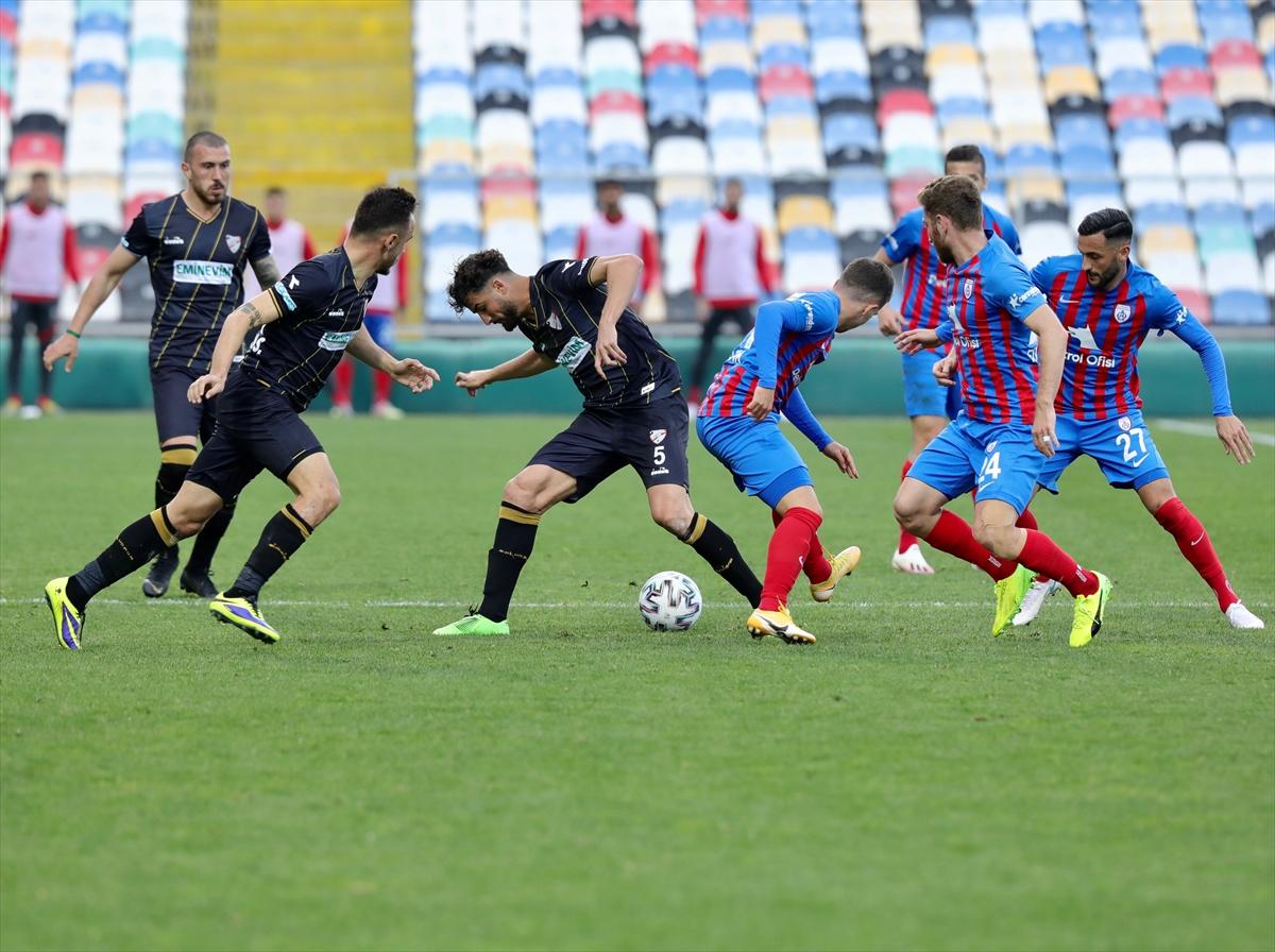 Altınordu-Boluspor maçının ardından