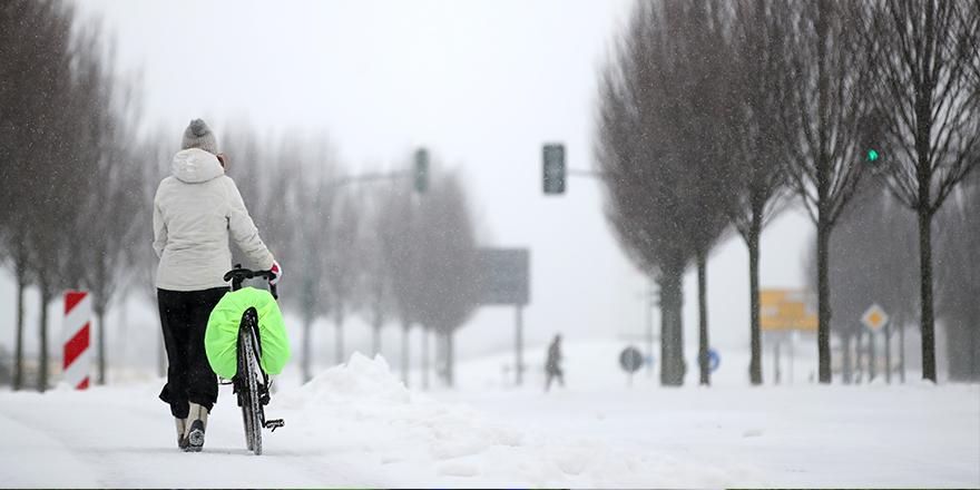 Almanya şiddetli kar yağışıyla mücadele ediyor