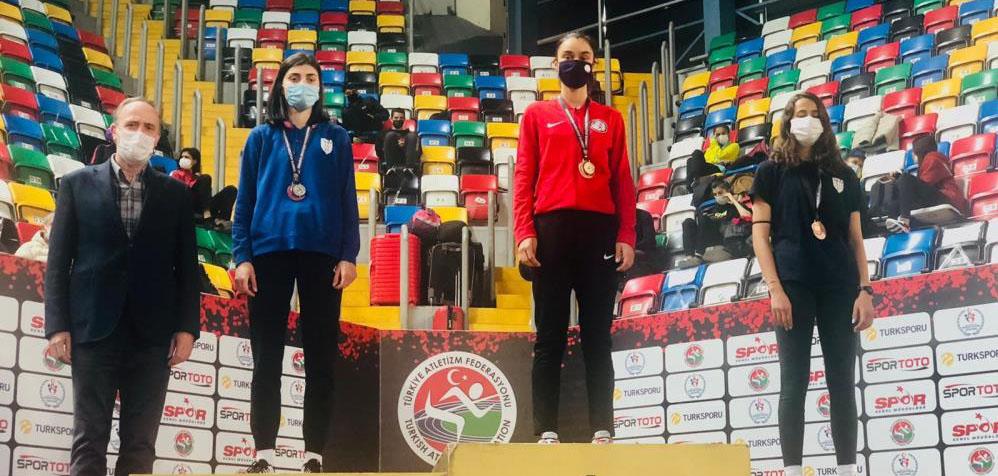 Erdekli sporcu Aleyna Karaca Türkiye şampiyonu