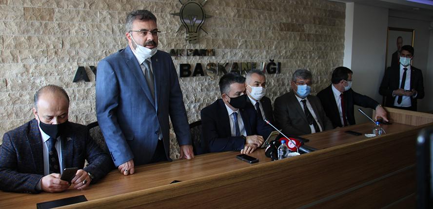 """AK Parti Aydın İl Başkanı Özmen, """"18 yılda toplamda 18 milyar TL destek sağladık"""""""