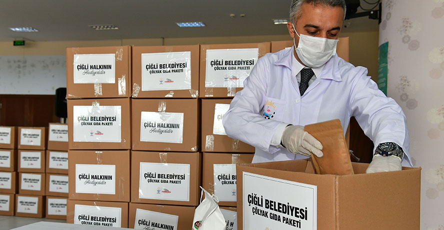 Çiğli Belediyesinden çölyak ve fenilketonüri hastalarına glütensiz gıda desteği