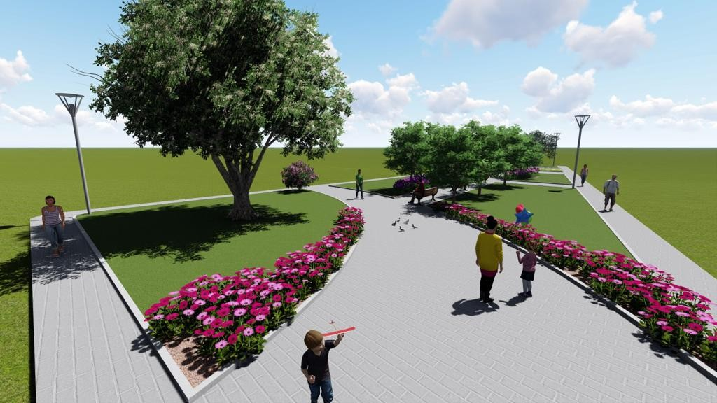 Onur Mahallesine yeni park