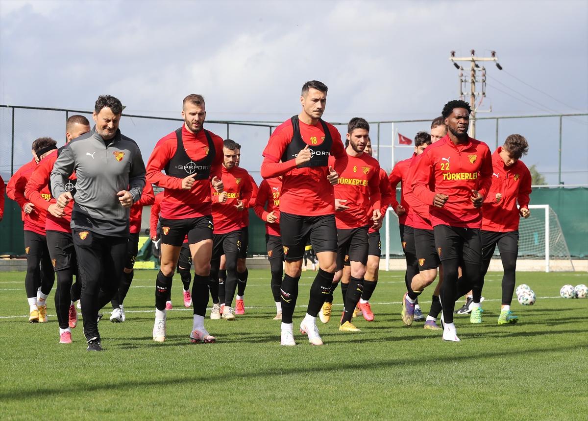 Göztepe, Başakşehir maçının hazırlıklarına başladı