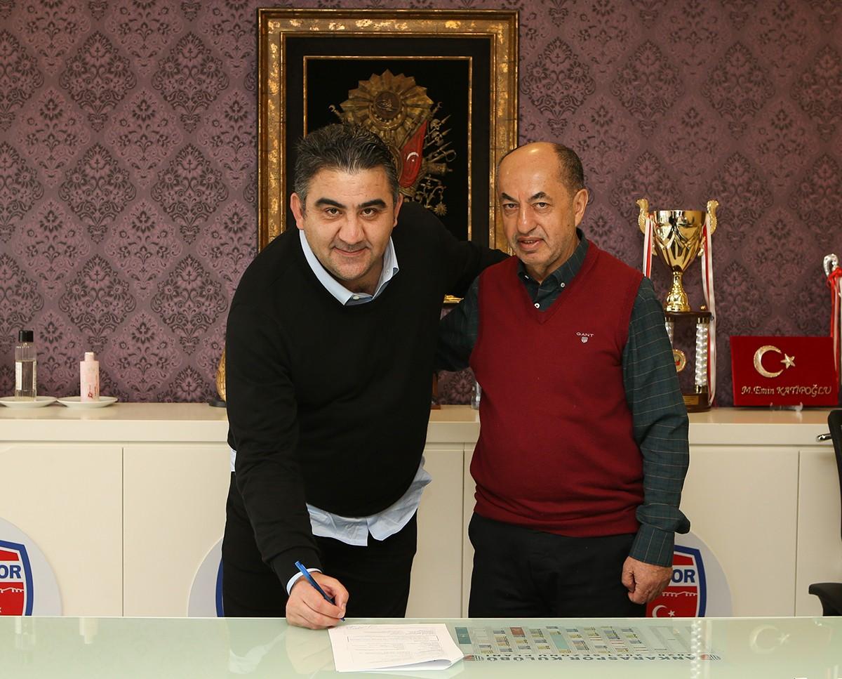 Ankaraspor, Ümit Özat'la anlaştı