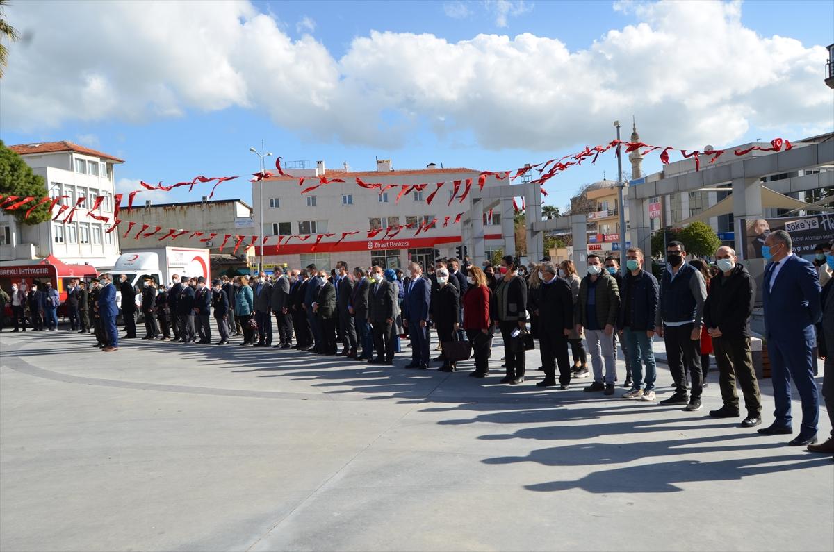 Atatürk'ün Söke'ye gelişinin 97. yıl dönümü kutlandı