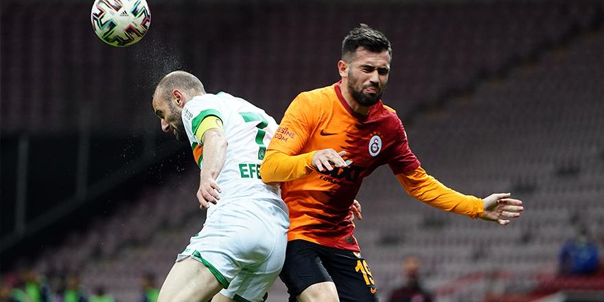 Ziraat Türkiye Kupası: Galatasaray: 2 - Aytemiz Alanyaspor: 3