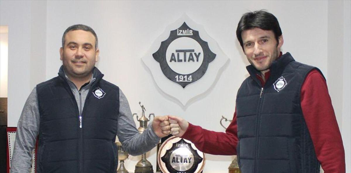 Altay'da sportif direktörlük görevine İbrahim Akın getirildi