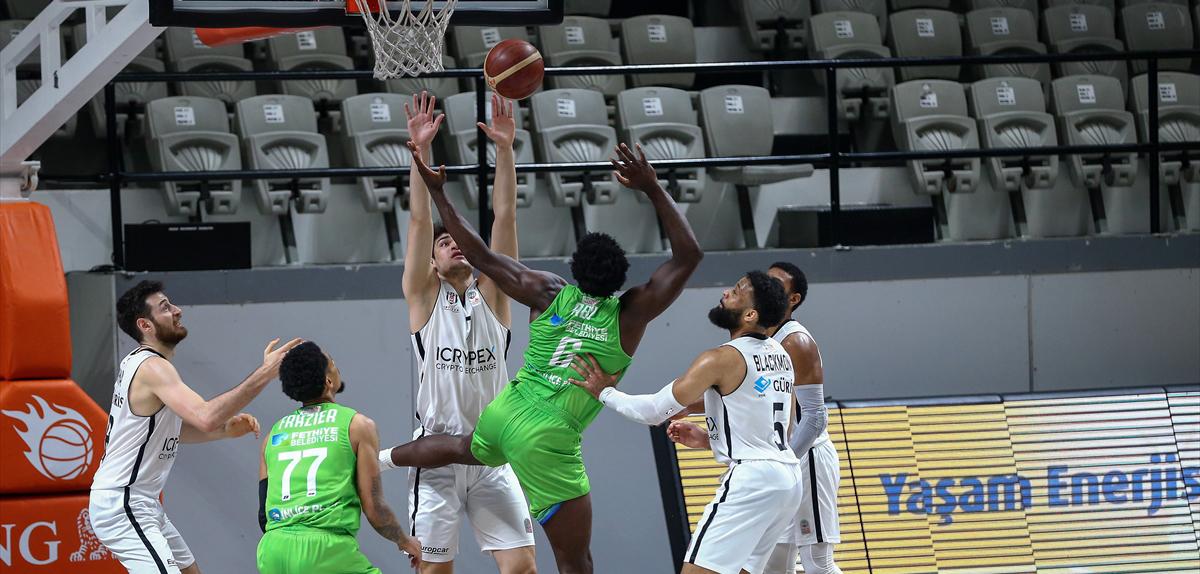 Beşiktaş Icrypex: 76 - Lokman Hekim Fethiye Belediyespor: 65
