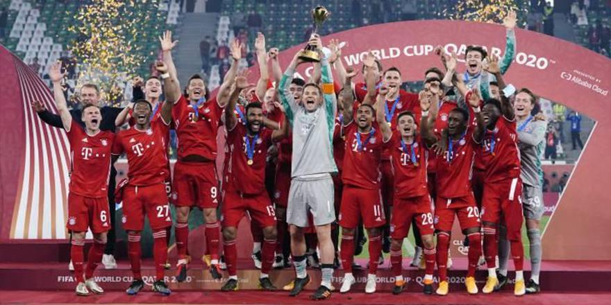 FIFA Dünya Kulüpler Kupası'nın sahibi Bayern Münih