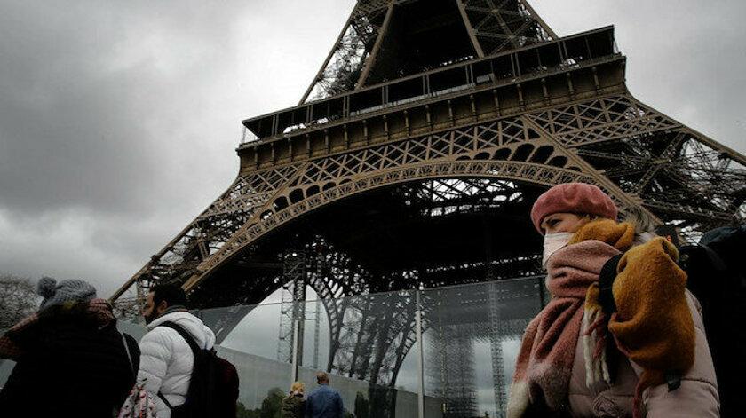 Fransa'da son 24 saatte 21 bin 63 yeni vaka