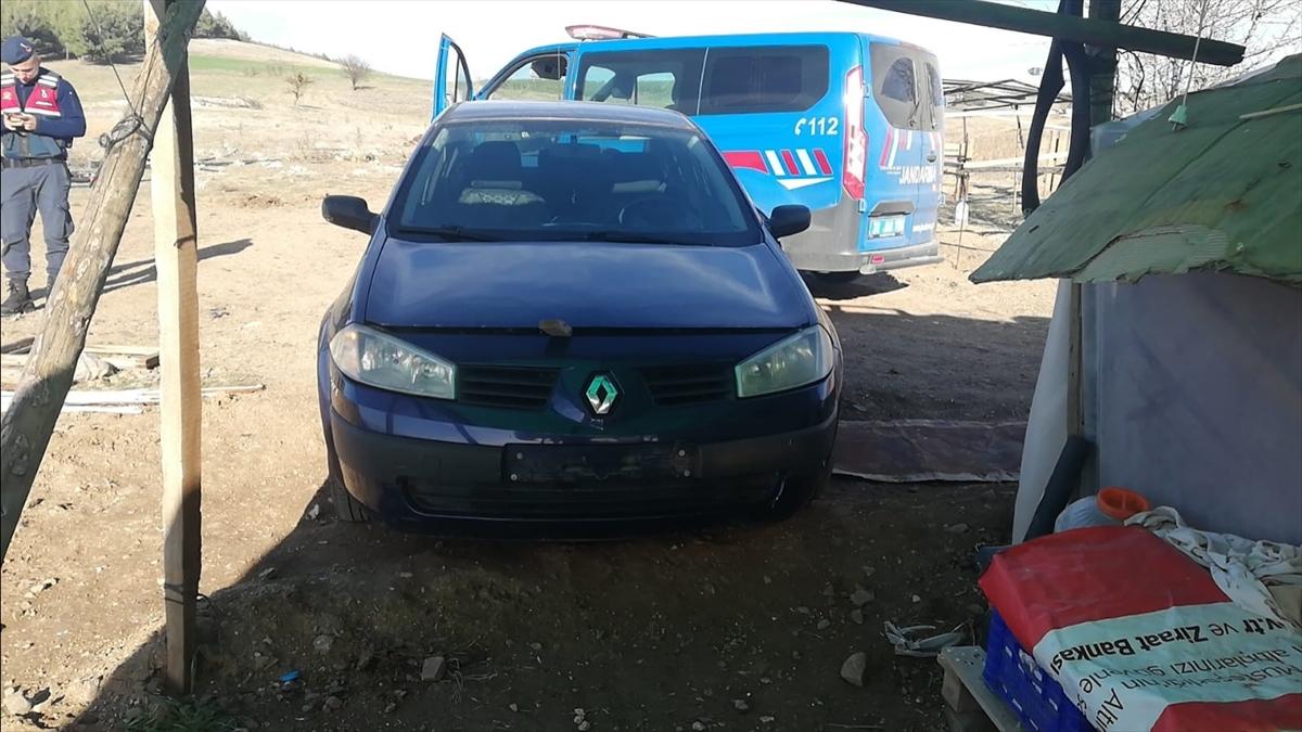 Muğla'da çalınan otomobil Denizli'de bulundu