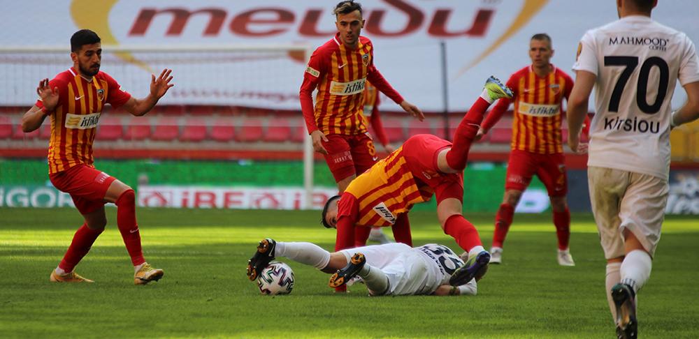 Süper Lig: Kayserispor: 0 - MKE Ankaragücü: 0