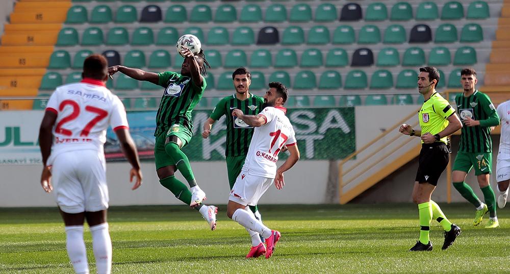 TFF 1. Lig: Akhisarpor: 1 - Samsunspor: 4