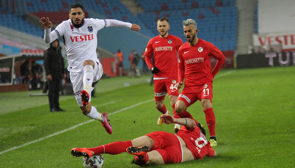 Süper Lig: Trabzonspor: 1 - Gaziantep FK: 0